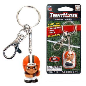 TeenyMate Cleveland Browns Tagalong Keychain