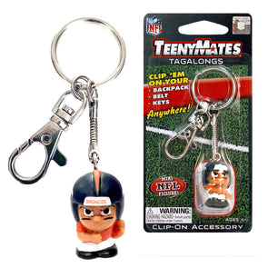 TeenyMate Denver Broncos Tagalong Keychain