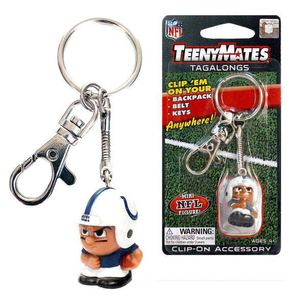 TeenyMate Indianapolis Colts Tagalong Keychain