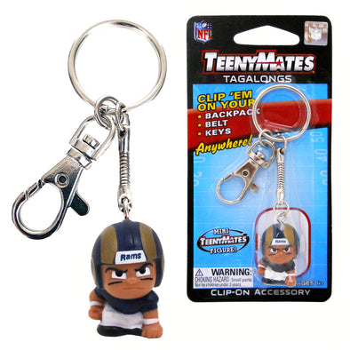 TeenyMate Los Angeles Rams Tagalong Keychain