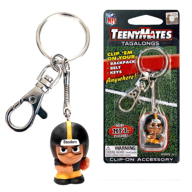 TeenyMate Pittsburgh Steelers Tagalong Keychain
