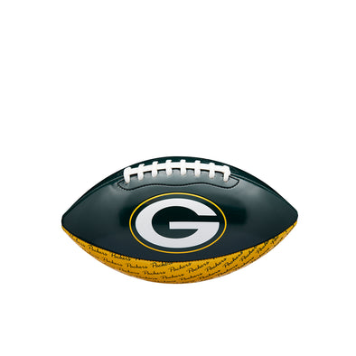 Mini NFL Team Peewee Football Green Bay Packers