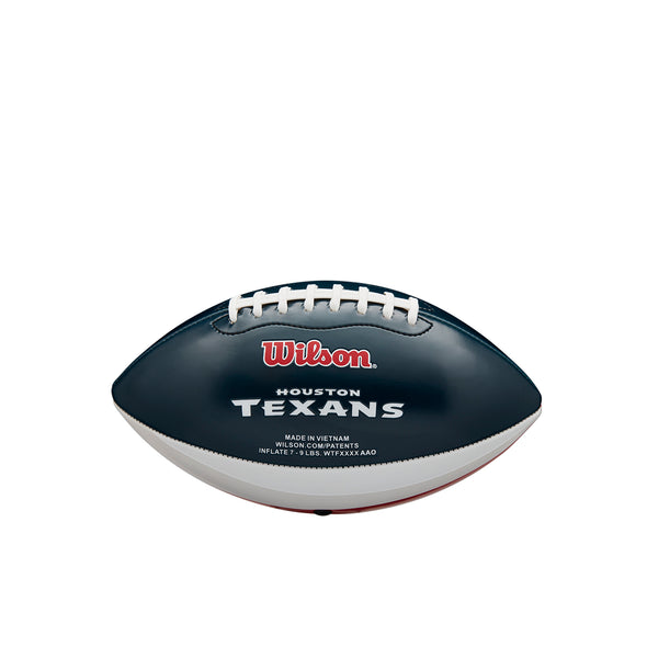 Mini NFL Team Peewee Football Houston Texans