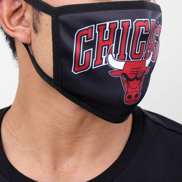 Pro Standard 2 Piece Set NBA Chicago Bulls Adult Face Mask