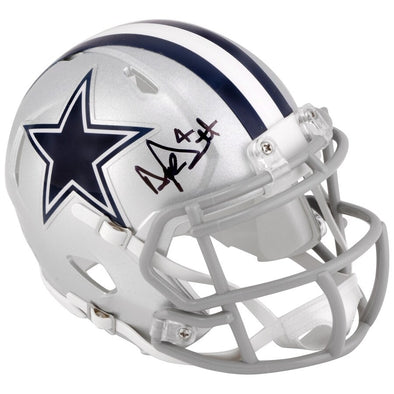 Dak Prescott Dallas Cowboys Autographed Riddell Speed Mini Helmet