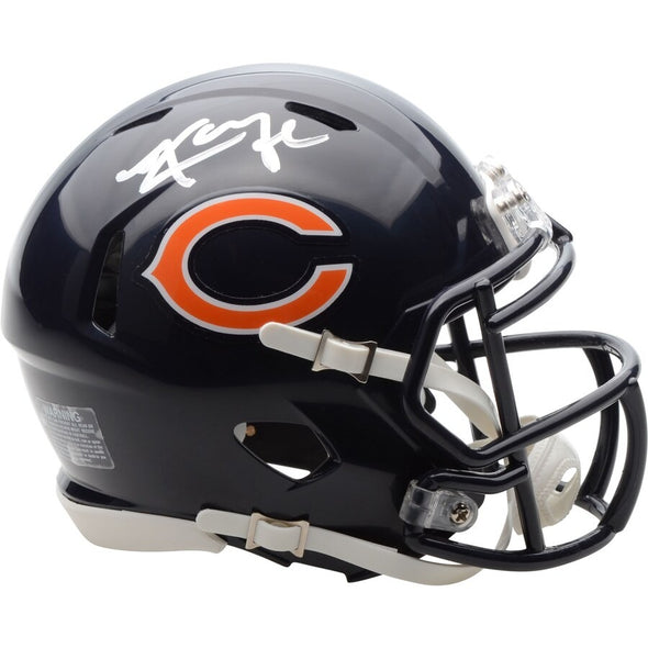 Khalil Mack Chicago Bears Autographed Riddell Speed Mini Helmet