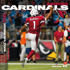 Arizona Cardinals NFL Wall Calendar 2021