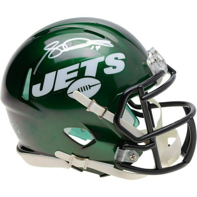 Autographed Sam Darnold New York Jets Speed Mini Helmet