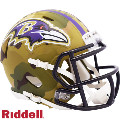 Riddell Baltimore Ravens Camo Mini Speed
