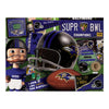 YouTheFan NFL Baltimore Ravens Retro Series Puzzle - 500 Pieces
