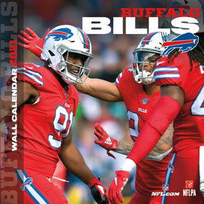 Buffalo Bills NFL Wall Calendar 2021