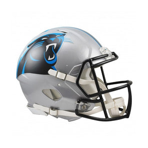 Carolina Panthers Full Size Riddell Speed Replica NFL Helmet