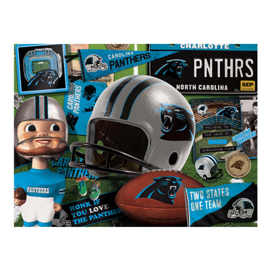 YouTheFan NFL Carolina Panthers Retro Series Puzzle - 500 Pieces