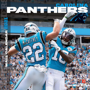 Carolina Panthers NFL Wall Calendar 2021