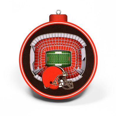 YouTheFan NFL 3D StadiumView Ornament Cleveland Browns