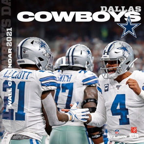 Dallas Cowboys NFL Wall Calendar 2021