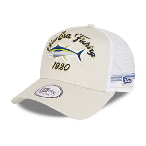 New Era Fishing Stone A-Frame Trucker Cap