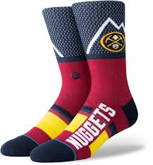 Stance NBA Basketball Denver Nuggets Shortcut Socks
