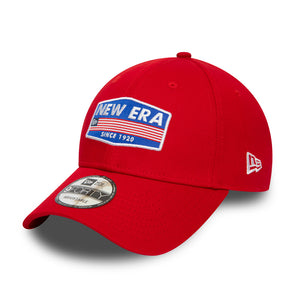 New Era USA Patch Red 9FORTY Cap