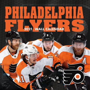 Philadelphia Flyers NHL Wall Calendar 2021