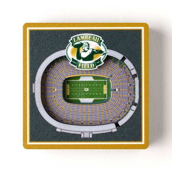NFL Magnet Stadium View Green Bay Packers