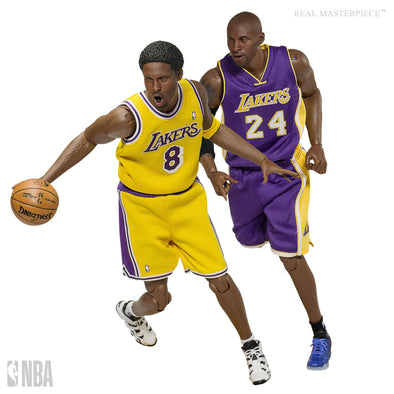 NBA Collection Real Masterpiece Actionfigur 1/6 Kobe Bryant Los Angeles Lakers Upgraded Re-Edition 30 cm