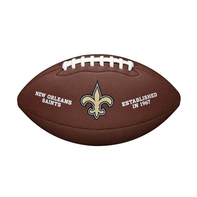 Wilson New Orleans Saints Composite Full Size NFL Football