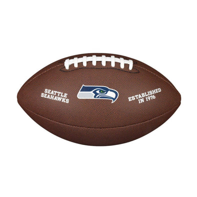 Wilson Seattle Seahawks Composite Full Size NFL Football