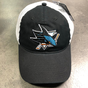 Fanatics NHL San Jose Sharks Iconic Team Heather Trucker Cap