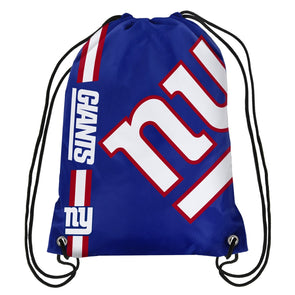 New York Giants Cropped Logo NFL Drawstring Gym Bag