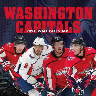 Washington Capitals NHL Wall Calendar 2021