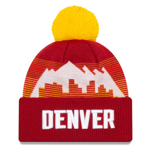 Denver Nuggets Official 2020 City Series NBA Knit