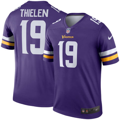 Nike Adam Thielen Minnesota Vikings Legend Purple Jersey