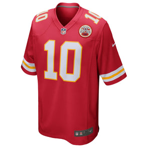 Men's Nike Tyreek Hill #10 Red Kansas City Chiefs Game Player Jersey
