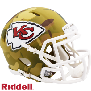 Riddell Kansas City Chiefs Camo Mini Speed