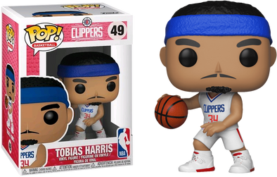 Funko NBA POP! Sports Vinyl Figure Tobias Harris Los Angeles Clippers