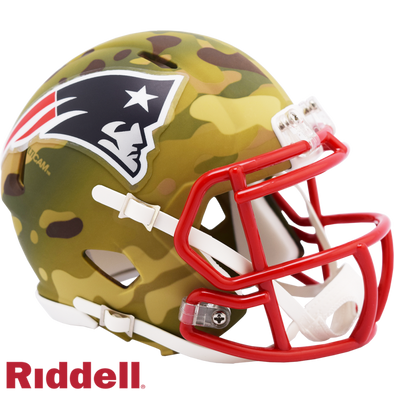 Riddell New England Patriots Camo Mini Speed Helmet