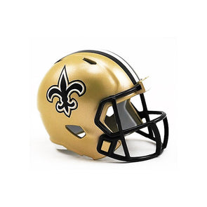 New Orleans Saints Riddell NFL Speed Pocket Pro Helmet