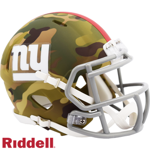 Riddell New York Giants Camo Mini Speed Helmet