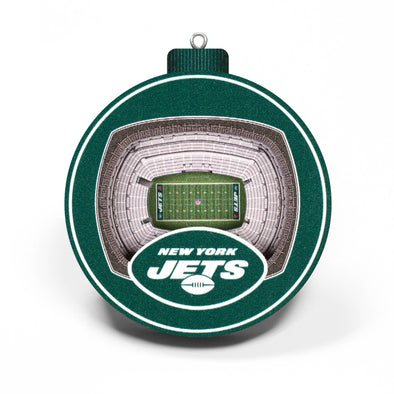 YouTheFan NFL 3D StadiumView Ornament New York Jets