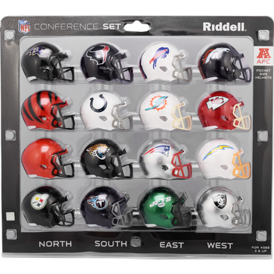 Riddell NFL Speed Pocket AFC & NFC Packs 2020
