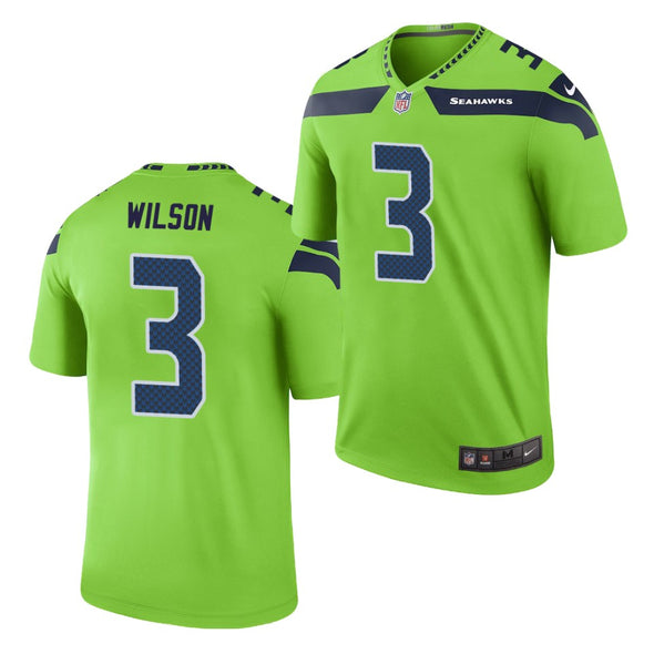 NFL Seattle Seahawks Colour Rush Legend Game Jersey - Russell Wilson
