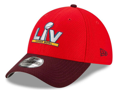 Super Bowl LV Two Tone Red 39THIRTY Stretch Fit Cap