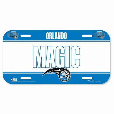 Orlando Magic Fanatics Branded License Plate Sign
