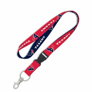 "Houston Texans 1"" NFL Lanyard w/ Detachable Buckle"