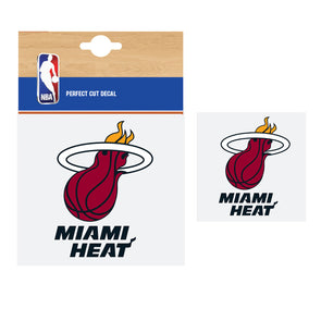 Fanatics NBA Miami Heat Car Decal