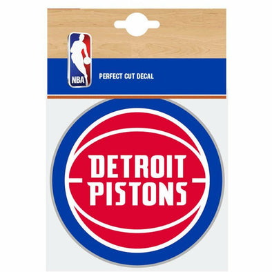 Fanatics NBA Detroit Pistons Car Decal