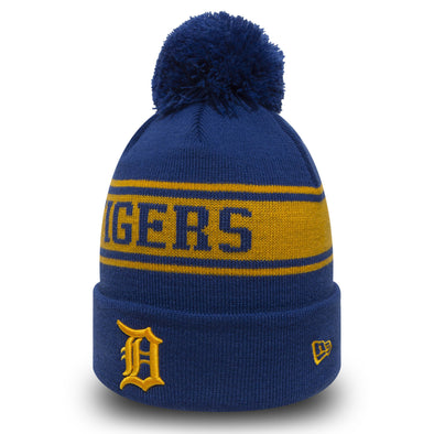New Era MLB Detroit Tigers Team Jake Blue Bobble Knit