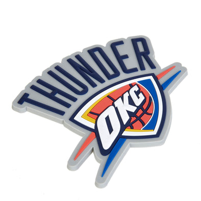 Oklahoma City Thunder Fanatics Branded Rubber Logo Magnet