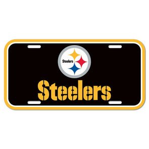 NFL Pittsburgh Steelers Licence Plate